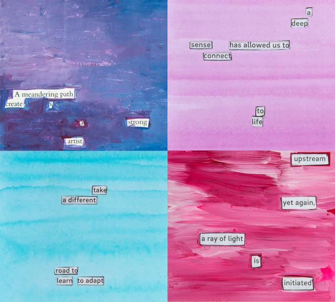 The Sparkle Experiment Cutout Poem